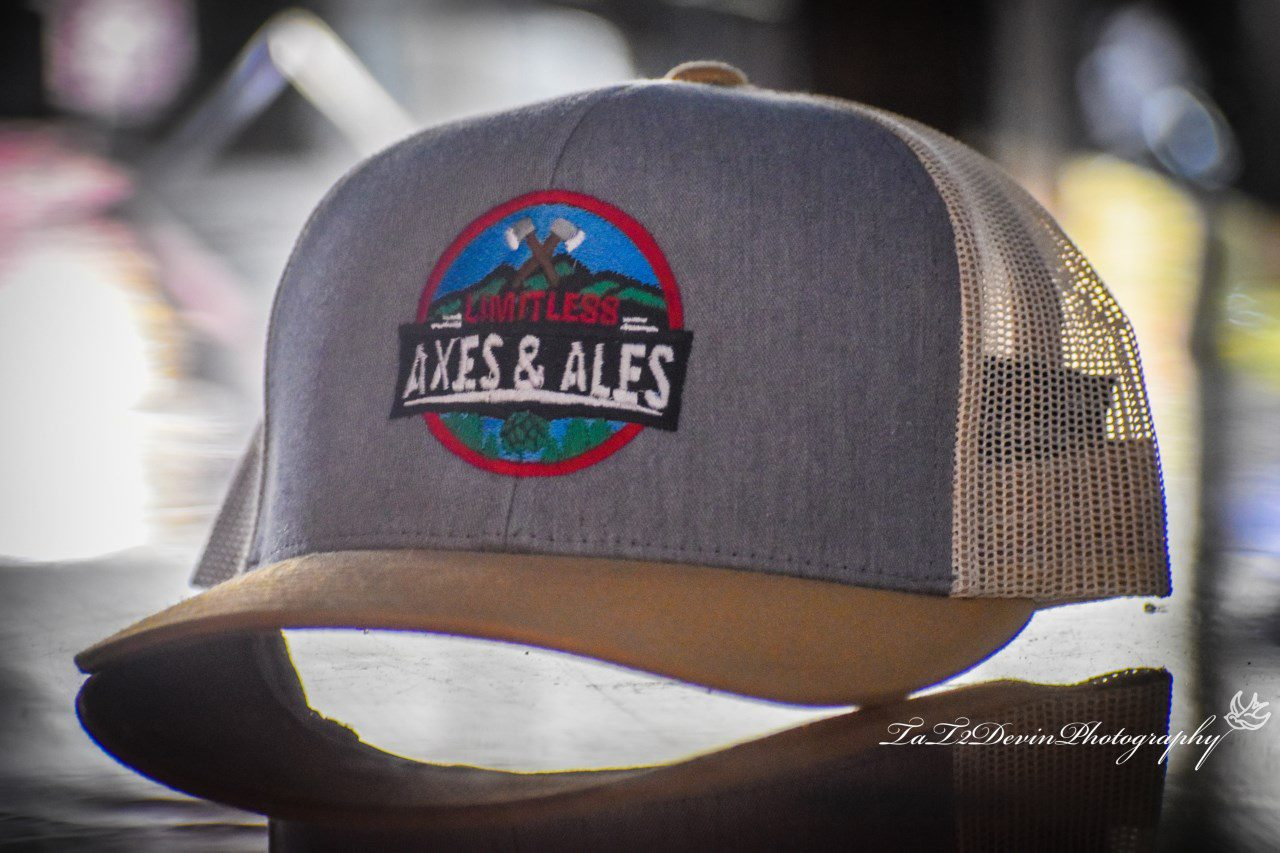 Limitless Axes & Ales hat